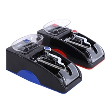 1 Pcs Electric Automatic Cigarette Rolling Machine Tobacco Injector Maker Roller With EU Plug