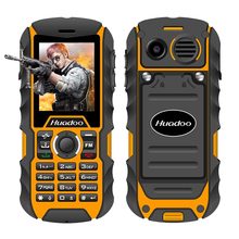 Huadoo H1 IP68 waterproof mobile phone FM flashlight MP3 support swimming shockproof dustproof outdoor rugged cell phone P013
