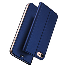 DUX DUCIS Case for iPhone 6 6S Leather Flip Cover with Magnet Wallet Case for iPhone 6 6S Plus Phone Bag for iPhone 7 7 Plus