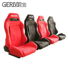 1 Pair High quality Sport Racing Car Seat Red Black Cloth BRACKET Auto Seat(China)