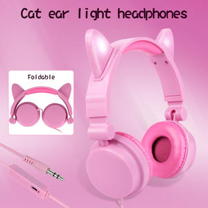 SHeadphones with Led-...