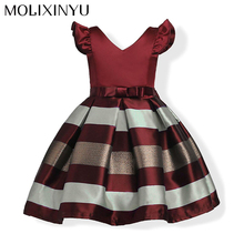 MOLIXINYU Girls Dress Baby Princess Dresses Summer New Kids Clothes For Sleeveless Formal Princess Party Dress For Girls Clothes(China)