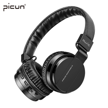 Original Picun P2+ headphones bluetooth over ear 4.1 MP3 FM Running Headsets For apple iphone se Redmi Band 2 Sony Asus LeEco PC(China)