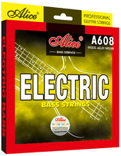 5 Strings Electric Bass Strings Hexagonal Core Nickel Alloy Wound 5pcs Alice A608