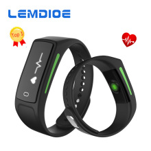 LEMDIOE V6 IP67 waterproof Fitness tracker Sports Smart Band Support Healthy diet calories Heart Rate monitoring smart bracelet(China)