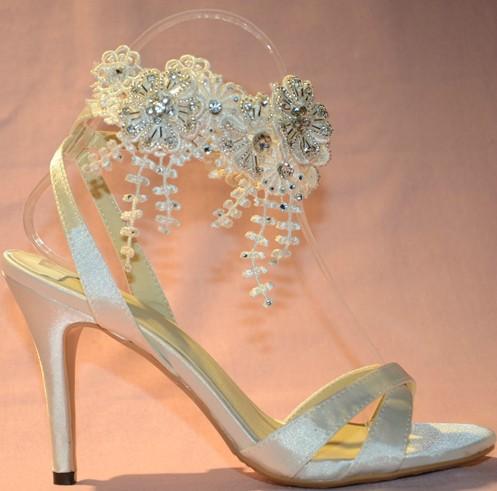 Fashion Wedding Beautiful Flower Shoes wedding Bridal Dress shoes lady nice Rhinestone Summer Party Prom Dress Shoes<br><br>Aliexpress