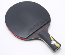 1 pcs Top quality Black Blade Brand DOUBLE HAPPINESS Table Tennis bat professional Ping Pong Racket Paddle HURRUCANE