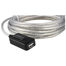 DSHA New Hot 5m USB 2.0 Active Repeater Cable Extension Lead