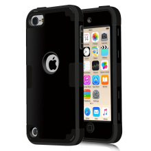 For iPod Touch 5 Cover Shockproof Protective Case Hard Soft Silicone Armor Full Body Cases For iPod Touch 5/Touch 6(China)
