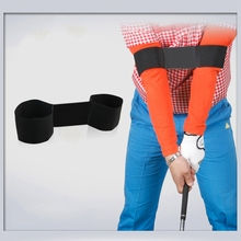 Newly Golf Equipment Accessories Golf Arm Posture Motion Correction Belt Black Golf Training Aids Golf Swing Practice Supplies