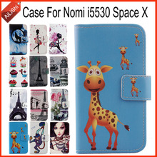 AiLiShi Factory Direct! For Nomi i5530 Space X Case Flip Holder Wallet Leather Case Cover Bag 100% Special Phone Accessories(China)