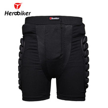 HEROBIKER Unisex Ski Snowboard Skating Skateboard Protective Gear Hip Butt Pad Extreme Sport DH MTB Bike Protection Armor Shorts