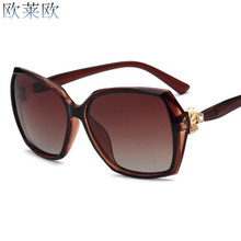 2017 Latest Fashion women polarized sunglasses Women Men Driving Mirror comfortable wearing sunglasses classic brand style