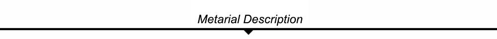 Material Description