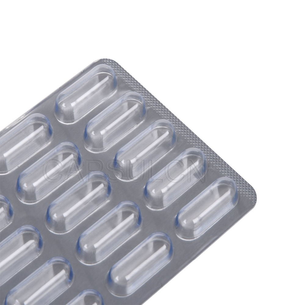 1000 pcs/ carton,Capsule Blister Packing Sheet For Capsule size 2 with 15 holes