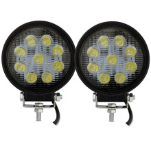 Safego 2X 27w LED work light 12v led tractor work light 24V offroad 4X4 ATV boat bumber driving fog lights spot flood beam