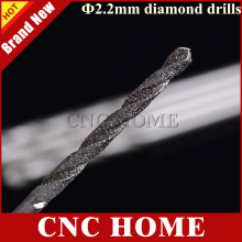 10pc 2.2mm Micro Diamond Jade Drill Bits, Twist Drill, Ceramic Punch Needle, Tools for Crystal, Onyx, glass, Emerald, hole maker