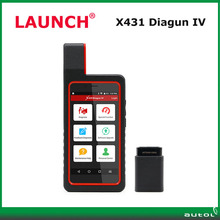 Multi Language Launch X-431 Diagun IV with WIFI/Bluetooth 2 Years Free Update Better Than X431 Diagun 3