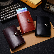 Buy Aluminium Rfid Card Holder Automatic Anti Rfid Blocking Protection Wallets Case Protect Credit Cards Bank Card Protector for $8.11 in AliExpress store