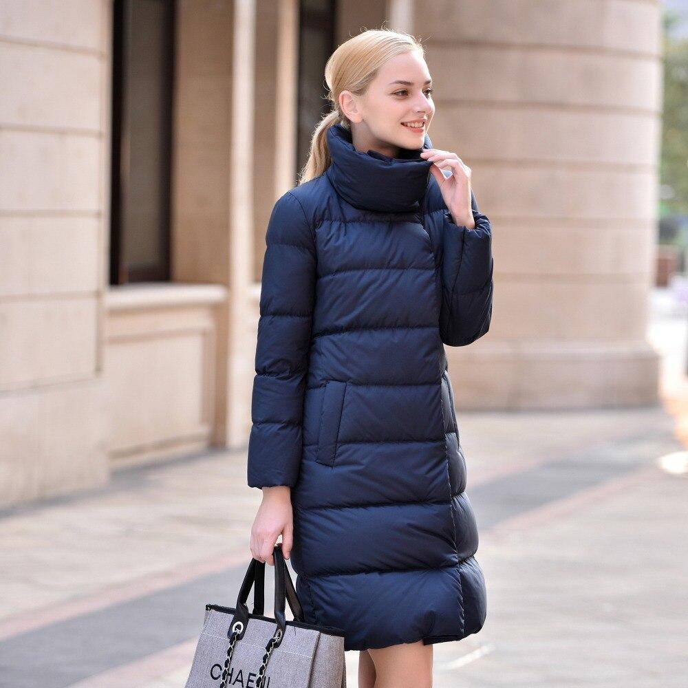 Snow wear womens winter jackets faux fur jacket female 2016 Winter parka fur collar jacket women slim Long outerwear winter down