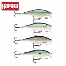 Rapala Brand SCRS07 Scatter Rap Shad Hard Fishing Lure 70mm 7g Depth 1.5-2.4m Scatter Lip Artificial Bait For Casting & Trolling(China)