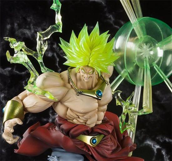 DRAGON BALL F ZERO Broli super Saiyan gleam Explosion PVC action figure(19)
