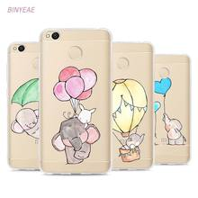 Buy BINYEAE Super Cute Elephant Rabbit Style TPU Soft Phone Case Cover Xiaomi Mi Redmi Note A1 3 4 4X 4A 5A 5 Plus for $2.20 in AliExpress store