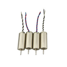 4PCS four-axis aircraft parts E010 H36 helicopter motor remote control aircraft CW + CCW motor