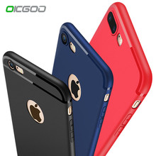 Buy OICGOO Luxury Back Matte Soft Silicone Case iPhone 6s Cases 6 6s Plus 6 Case Full Cover iPhone 7 7 Plus 6 Phone Cases for $1.34 in AliExpress store
