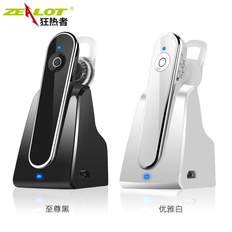 Original ZEALOT E5 Handsfree Wireless Stereo Bluetooth 4.1 Earphone CSR Chip Car Headset With Microphone Earbuds New<br><br>Aliexpress