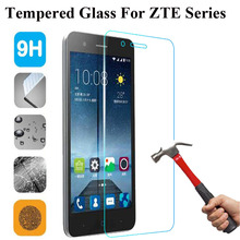 9H Tempered Glass For ZTE Blade GF3 A510 A452 X3 X5 X7 X9 D6 S6 L3 L5 A1 A2 Nubia Z11 Screen Protector Cover Case Guard Film