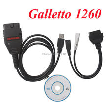 Galleto 1260 OBDII EOBD2 Diagnostic Interface Galletto 1260 ECU Flashing Interface(China)