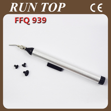 1pcs/lot Best Selling Vacuum Suck Pen FFQ 939 Hand Tool for IC + 3 suction headers
