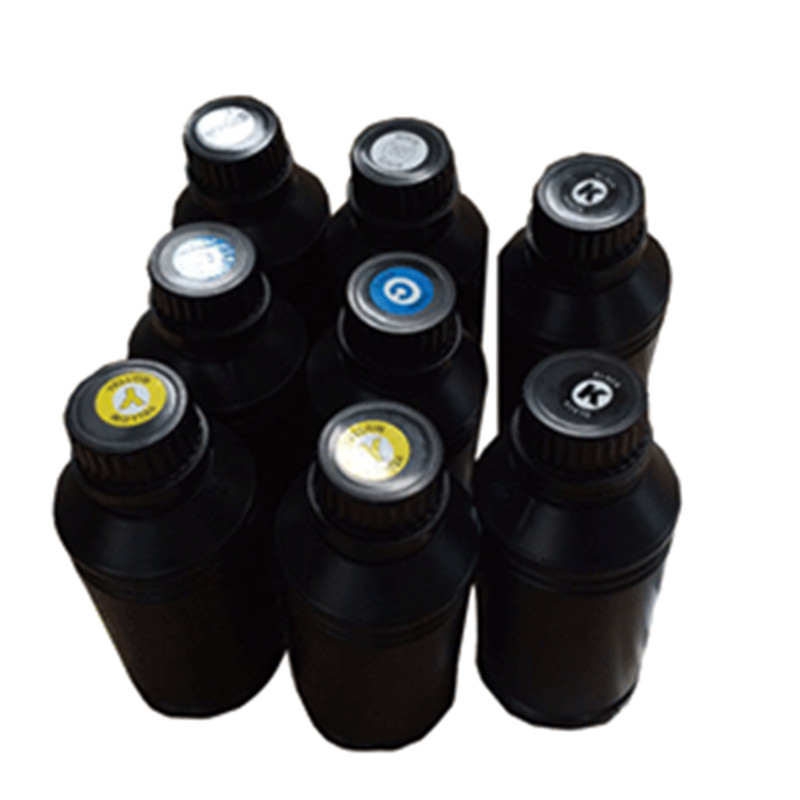 500ml / bottle UV curing ink for China uv flatbed printers<br>