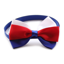 60Pcs Armi store Handmade Red White Bule Ribbon Dog Tie Bow Ties For Dogs 6031061 Pet Grooming Supplies Wholesale