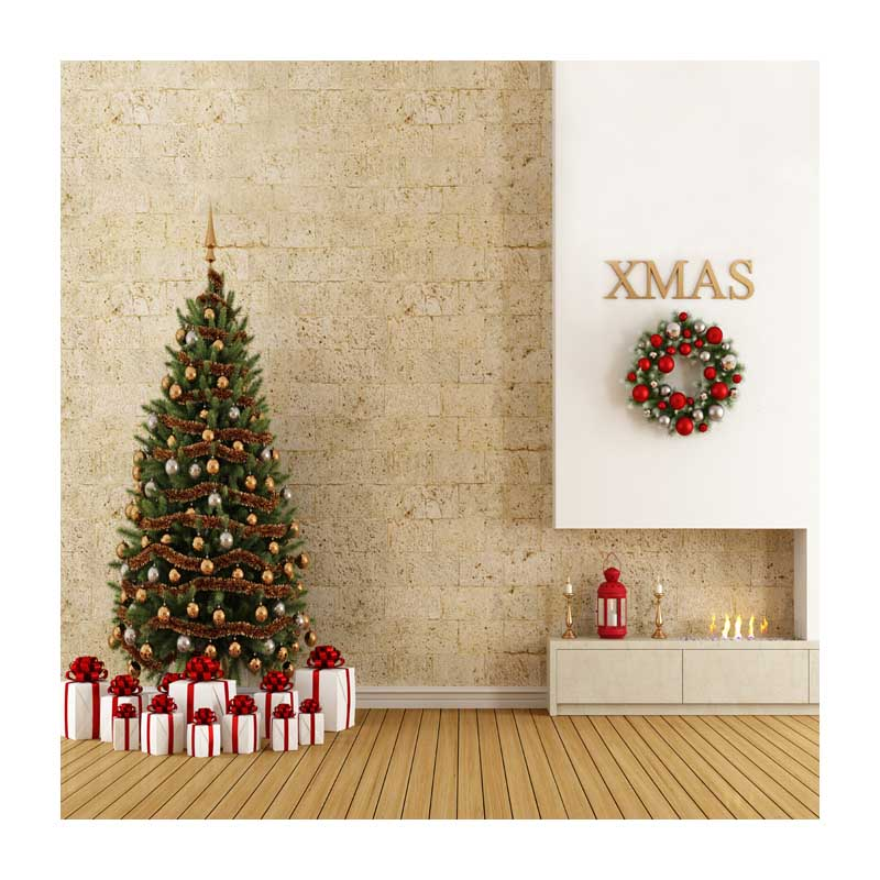 10x10ft free shipping Christmas backdrops Customized computer Printed vinyl photography background  for photo studio st-493<br>