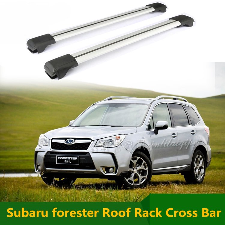 For Subaru forester 2009-2016 Roof Rack Rails Cross Bar Luggage Carrier Bars top Racks Rail Boxes Aluminum alloy 2pcs<br><br>Aliexpress
