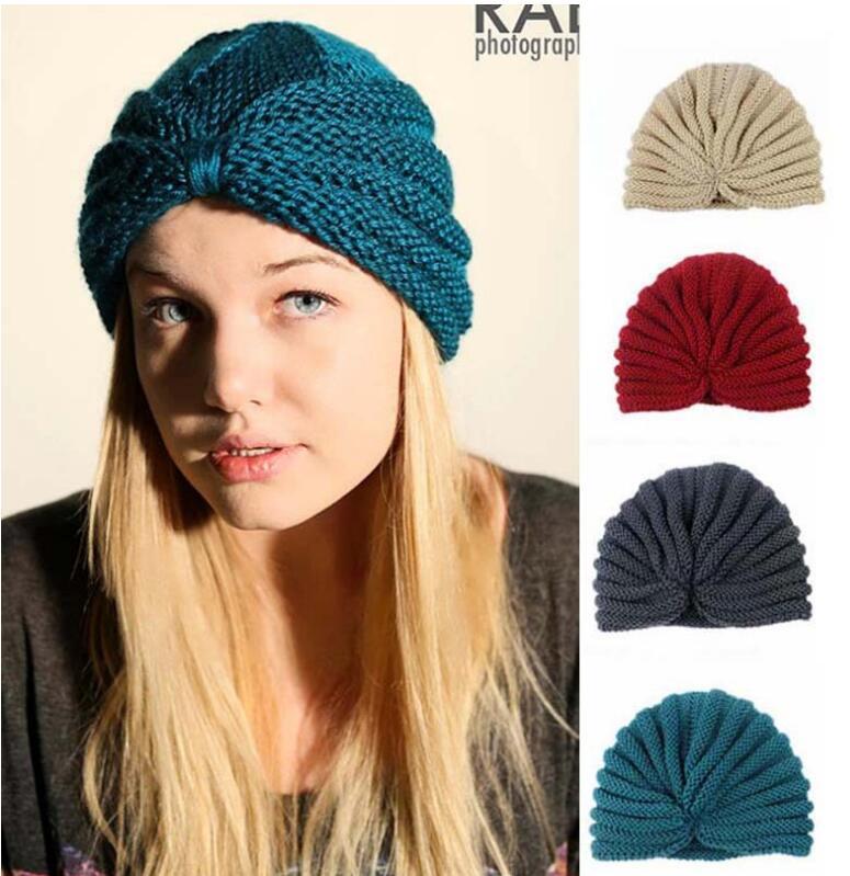 2016 Women Winter Hats India hats caps turban caps dome caps women beanies hats fashion women knitted warm hatsÎäåæäà è àêñåññóàðû<br><br><br>Aliexpress