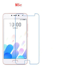 3 PCS HD phone film PE touch preserving eyesight for Meizu M5C screen protector with wipe(China)