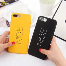 Buy KL-Boutiques Cartoon Case iphone 5s Cases Couples NICE Smile Back Cover Fundas iPhone 6 6S 7 8 Plus Hard Case Coque for $1.19 in AliExpress store