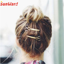 Hot Gold Silver Hair Clip Hair Accessories Headpiece korean cute hair clip Drop Shipping Special Design LS60 Drop Shipping