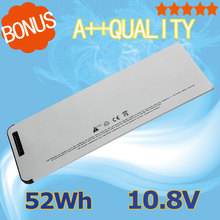 "10.8V 52Wh  new Laptop battery A1278 A1280 for Apple MacBook 13"" MB467*/A  A1278  MB466J/A(2008 Version)"