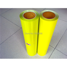 CDU-33 sun yellow seven color HOT SALES PU Heat Transfer Vinyl for T shirts size: 50*100cm
