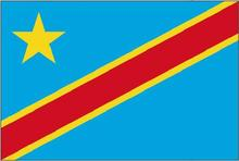 High quality Hanging Polyester  3x5FT Congo   national  Flag Banner Flying Size:  90cm* 150cm Custom flag
