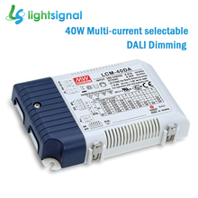 40W MEANWELL LCM-40DA DALI dimmable LED driver dimming LED power supply with DIP selectable constant current(China)