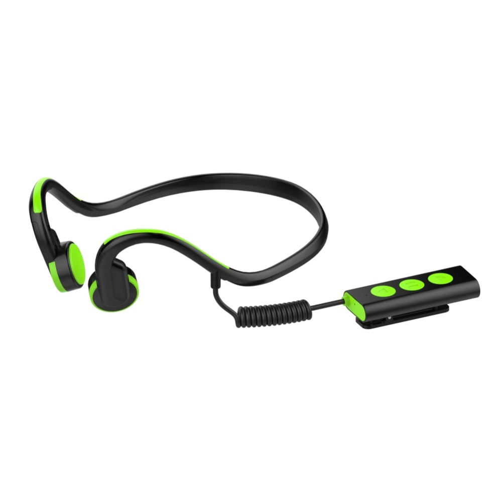 EDAL Bone Conduction Headphones Wireless Noise Reduction Neckband Bone Conduction Headsets Outdoor Sport Earphone With Mic<br>