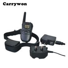 Carrywon Pet Dog Trainings Bark Deterrents Collar Rechargeable Waterproof 330yd Electronic Remote Control  Accessaries