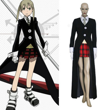 Hot Sale Soul Eater Maka Albarn Cosplay Costume Any Size Free Shipping Customize