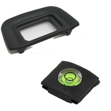 DK-20 Eyecup Eye Cup+Spirit Leve Cover For Nikon D5100 D3100 D3000 D60 D50 D70(China)