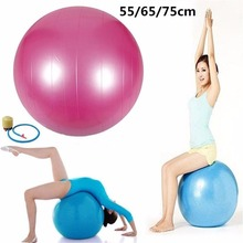 Hot Sale Anti Burst Yoga Ball 65cm Exercise Gym Fitness Massager Tool Thick Equipment Accessories Sets Health Keep Slim